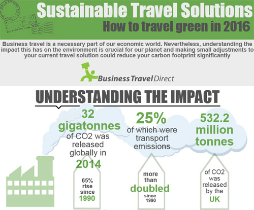 Sustainable Travel Infographic